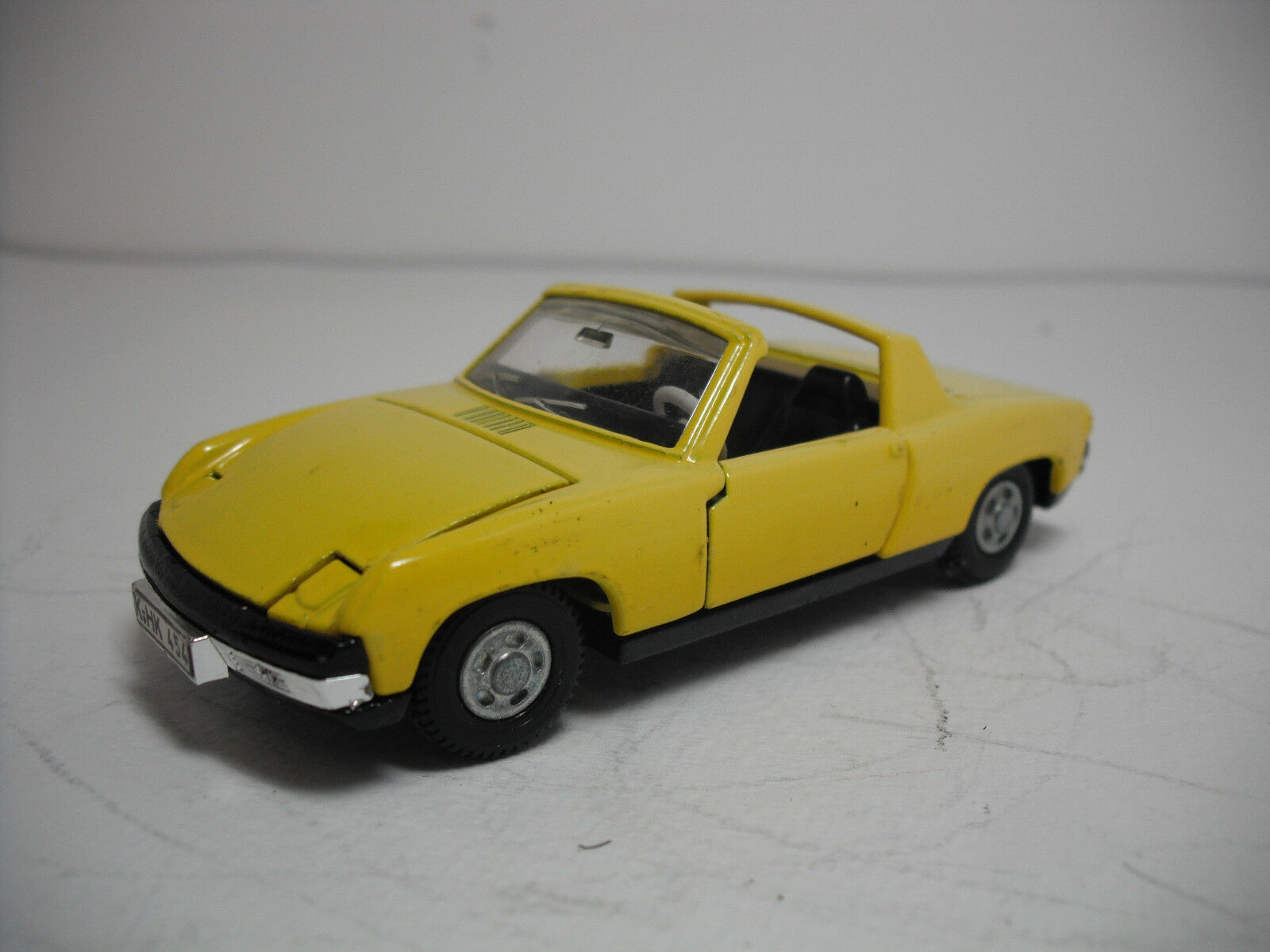 DINKY TOYS MECCANO  208-H VW PORSCHE 914 Cabriolet Near Comme neuf  Made in UK