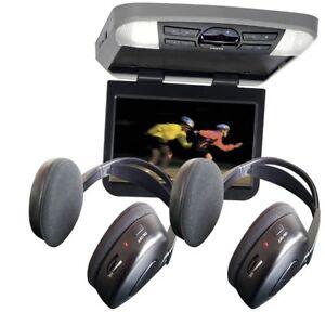 AVXMTG10UA-AUDIOVOX-MOVIES-TO-GO-10-034-WIDESCREEN-OVERHEAD-FLIP-DOWN-w-DVD-amp-HPS