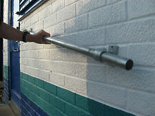 Handrail Hand Railing Handrailing Kit Wall Mounted Grab Rail Galvanized steel