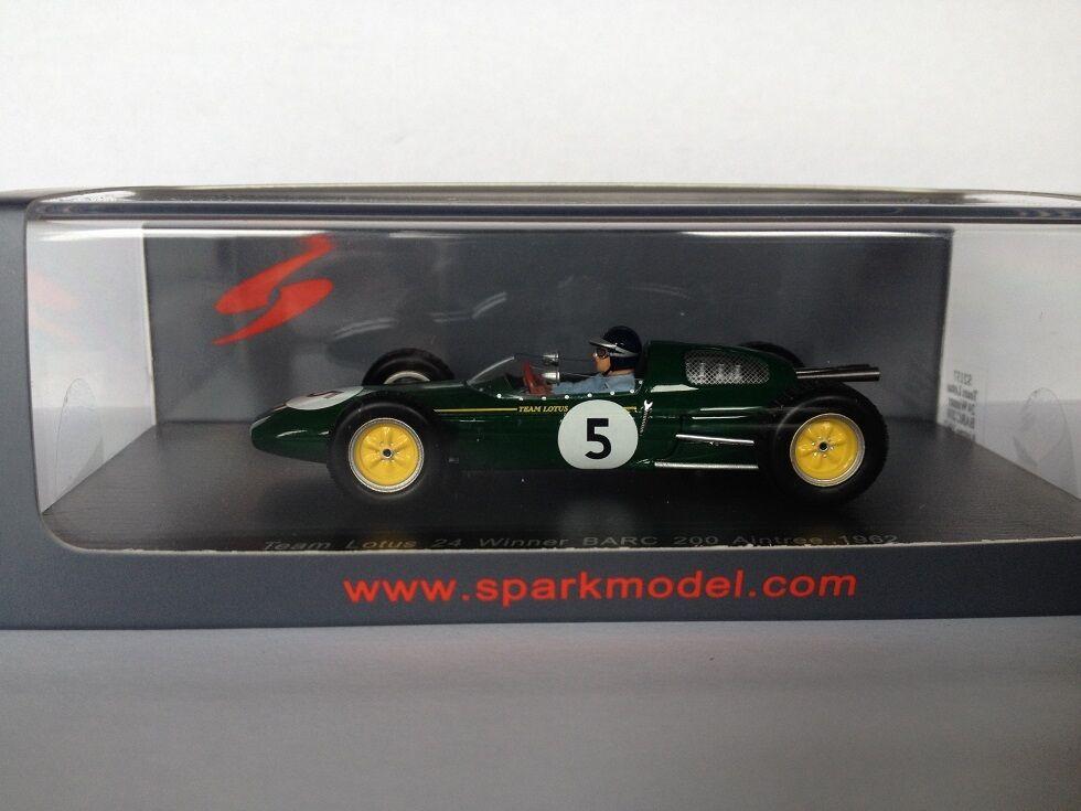 1 43 Spark Team Lotus 24 Winner Barc 200 200 200 Aintree 1962 S2137 fbf209