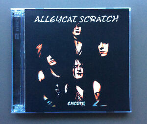 ALLEYCAT-SCRATCH-Encore-CD-DVD-EX-Condition-Glam-Rock-Limited-Edition-RARE