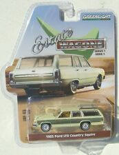 1979 Ford LTD Country Squire GREEN MACHINE ** Greenlight Estate Wagon 1:64 RAR