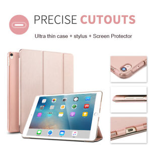 iPad-Pro-9-7-034-10-5-034-12-9-034-Air2-Slim-Leather-Sleep-Wake-up-Smart-Case-Stand-Cover