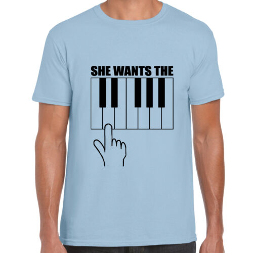 She Wants The D Funny T Shirt Gift Music Musician Top Tee grabmybits