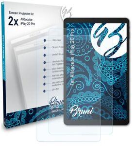 Bruni 2x Protective Film for Alldocube iPlay 20 Pro Screen Protector