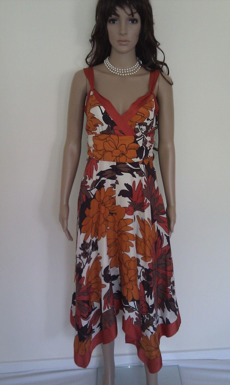 21d23d77b5 MONSOON Silk Dress. Occasion