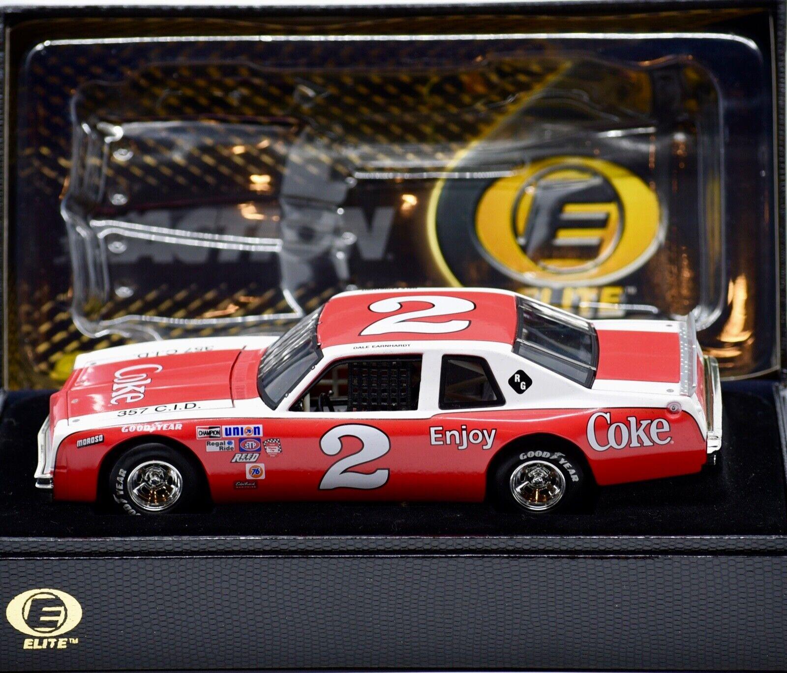 2002 verkan Elite Dale Earnhardt Coke 1980 Pontiac Ventura of 504 Sällsynt