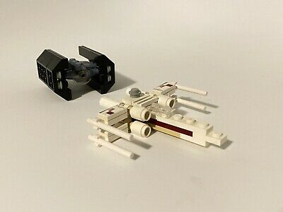 LEGO Star Wars Mini X-WING FIGHTER & TIE ADVANCED Set 4484 Rare | eBay
