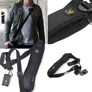 Quick-Rapid-Shoulder-Sling-Belt-Neck-Strap-For-Camera-SLR-DSLR-Nikon-Canon-Sony