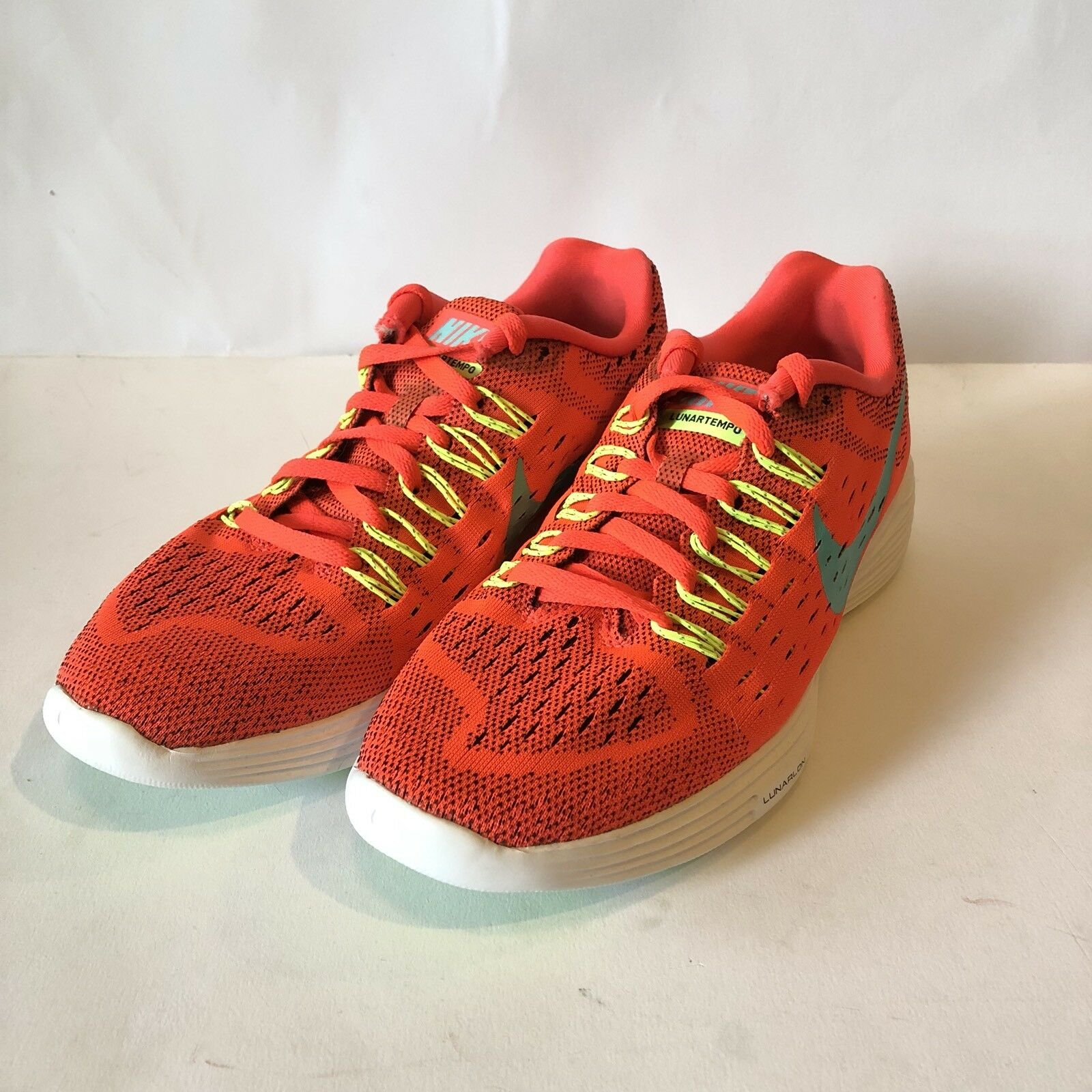 Nike Lunartempo Womens Size 7, Orange