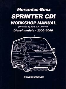Mb sprinter repair manual.