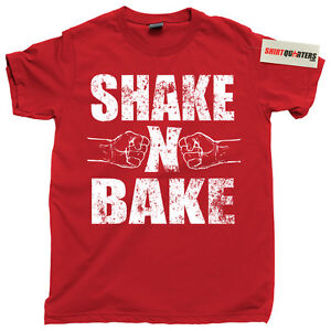 bd1b6439 Details about Shake and N Bake Ricky Bobby Step Brothers nascar redneck  bubba costume T Shirt