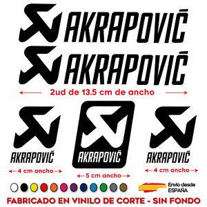5X-PEGATINAS-AKRAPOVIC-STICKER-VINILO-MOTO-SPONSOR-AUTOCOLLANT-AUFKLEBER-DECAL