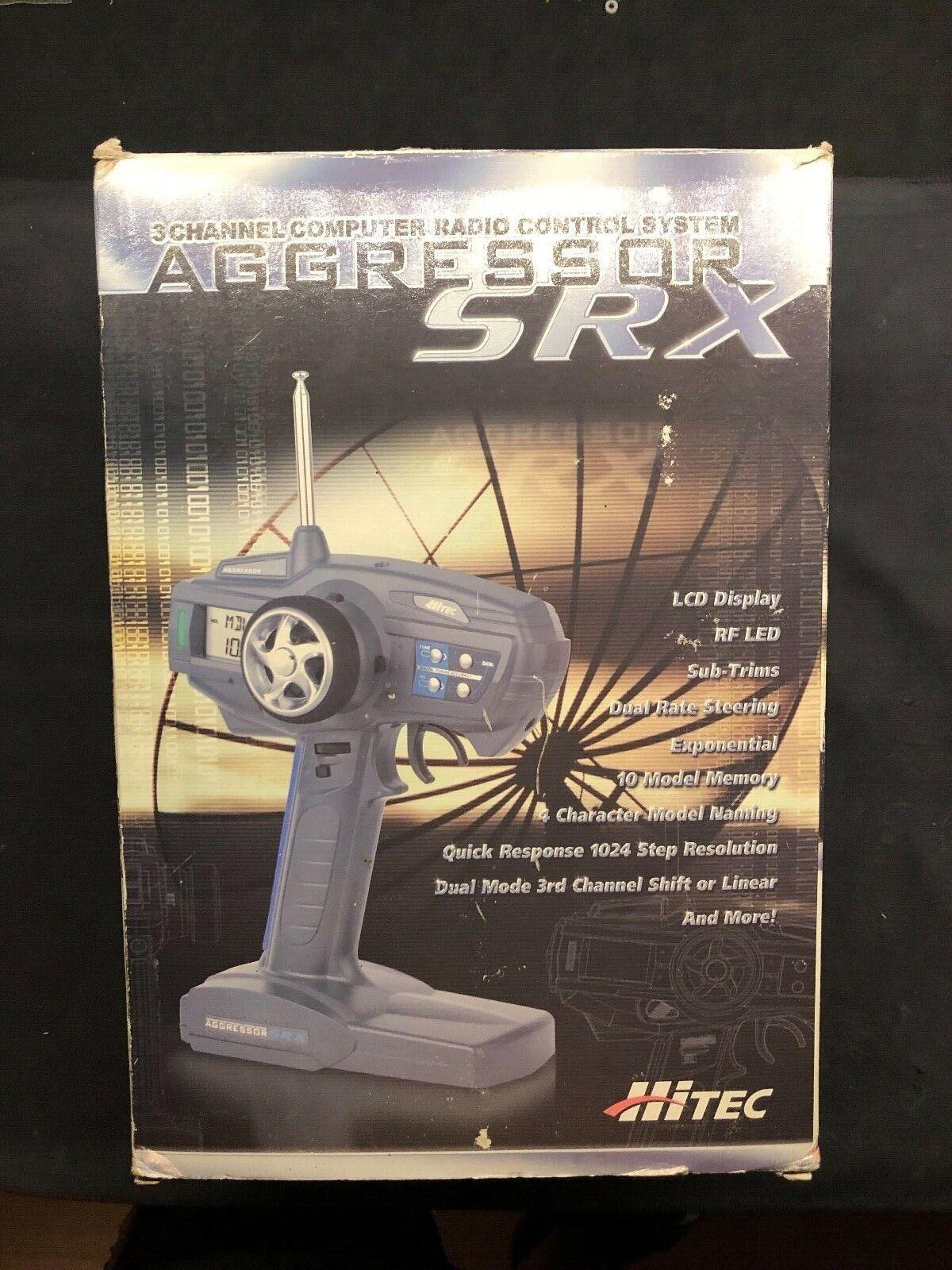 Radiocouomodo Hitec Aggressor  SRX 3ch  migliori prezzi e stili più freschi