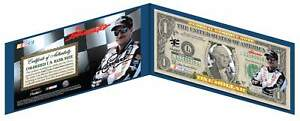 DALE-EARNHARDT-SR-3-NASCAR-Colorized-US-1-Bill-THE-INTIMIDATOR-Licensed