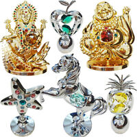 Crystal Gift Set Collectable Ornament Crystocraft Swarovski Elements Religious