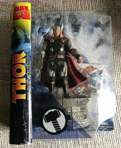 MARVEL SELECT The Mighty Thor 7 1/2 Figure Comme neuf on Card