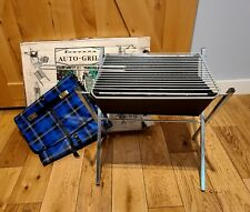 Vtg Fontana Portable Folding Auto Grill Bbq With Carrying Case Amp Box Made In Spain