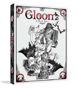 Gloom-Morts-sans-repos-Extension-pour-Gloom-Jeu-de-societe-Neuf