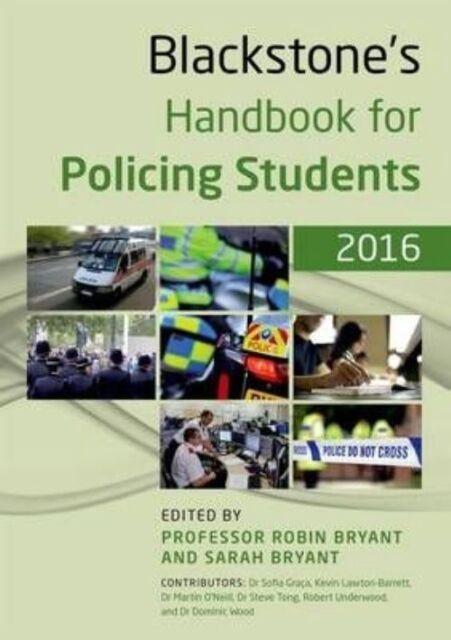 Blackstone's Handbook for Policing Students 2016-ExLibrary