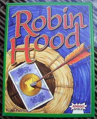 Altes Kartenspiel Von Amigo - Robin Hood Vollständig