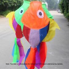 70cm 3D Kites Cute Fish-type Kite Fly Tail Kite Ripstop Sail Accessory G6T4