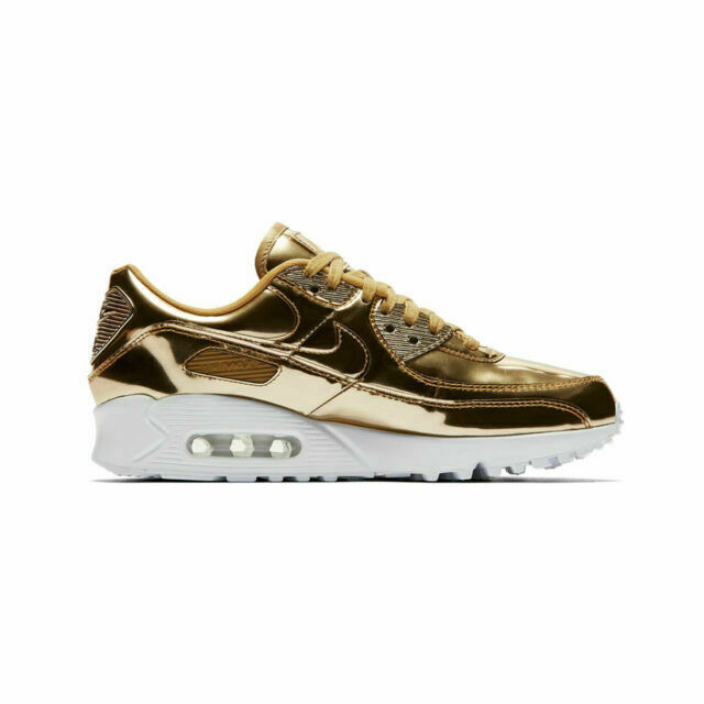 Size 8 - Nike Air Max 90 Metallic Pack - Gold 2020 for sale online ...