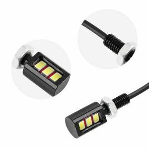 12V-3W-Ampoules-Eclairage-De-Plaque-Boulon-Vis-Lumiere-Pour-Voiture-Moto-LED-SMD