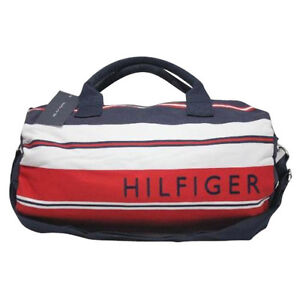 Tommy Hilfiger M86928804 409 Duffle Red White Blue by Agsbeagle #BagsFever