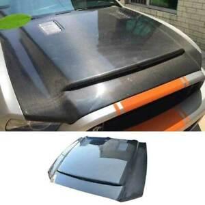 GT500 Carbon Fiber Front Engine Hood Bonnet Cover For Ford Mustang 2010-2014