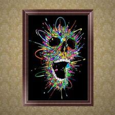DIY 5D Diamond Embroidery Painting Skull Cross Stitch Art Craft Home Decor