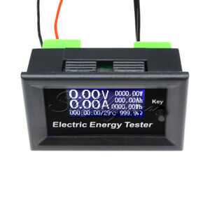 LCD-20A-120V-Digital-Voltage-Watt-Current-Power-Ammeter-Voltmeter-Detector-Meter
