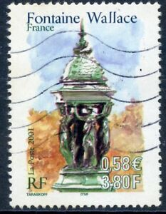 Stamp / Timbre France Oblitere N° 3442 Fontaine Wallace France