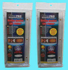 2 Ultra Pro One Touch DOUBLE BOOKLET 187mm Horizontal Magnetic Holder STAND Case