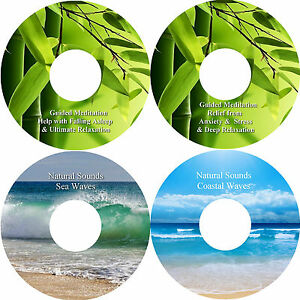 Guided-Meditation-Sleep-amp-Stress-Relief-amp-Natural-Sounds-4-CD-Relaxation-Healing