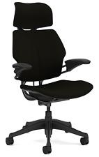 Humanscale Freedom F211 Black Wave Fabric Ergonomic Computer Office Desk Chair