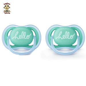 Avent-Orthodontic-Pacifier-0-6-months-2-pack-BPA-Free-Authentic-and-Brand-New