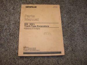 caterpillar cat 322 322l excavator 3116 engine 7wl1 8cl1 parts rh ebay com Cat 322 Loader Cat 322 Excavator Specs