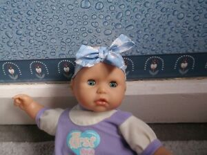 """PRETTY SB BABY ANNABELL DOLL 14"""" ZAPF CREATIONS NO ACTIONS ..."""
