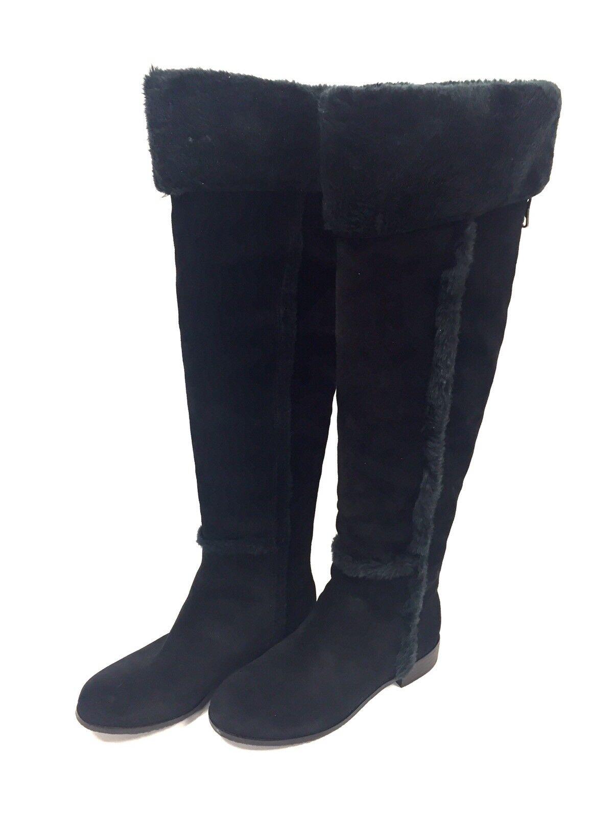 Bottes femme Cuir Noir BCBGMAXAZRIA 38 FR FR FR  8 US 30e211