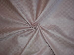 Light Pink Woven Parquet Fabric Home Decor Upholstery Drapery
