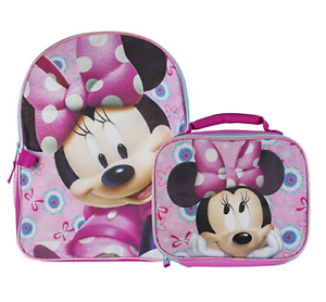 Image is loading Disney-Little-Girls-039-Minnie-Mouse-Backpack-with- 23a756e02d868