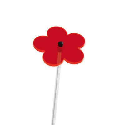 Cim Sonnenfänger Sundancer Blume 60 Rot Wetterfest Lichtreflektierend Deko
