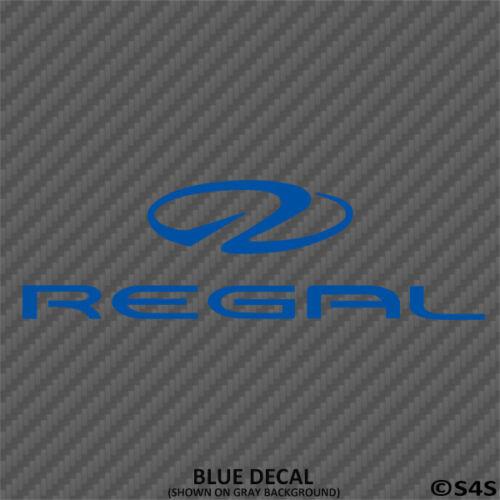 Regal Bateaux Voiture//Camion Autocollant Outdoors Sports /& Boating V1-Choisir la Couleur