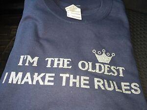 7c161aad08 New Custom Siblings Rules T-Shirts