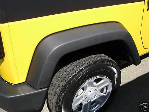 New OEM 2007-2017 Jeep Fender Flare Wheel Opening Molding Rear Left Hand Side