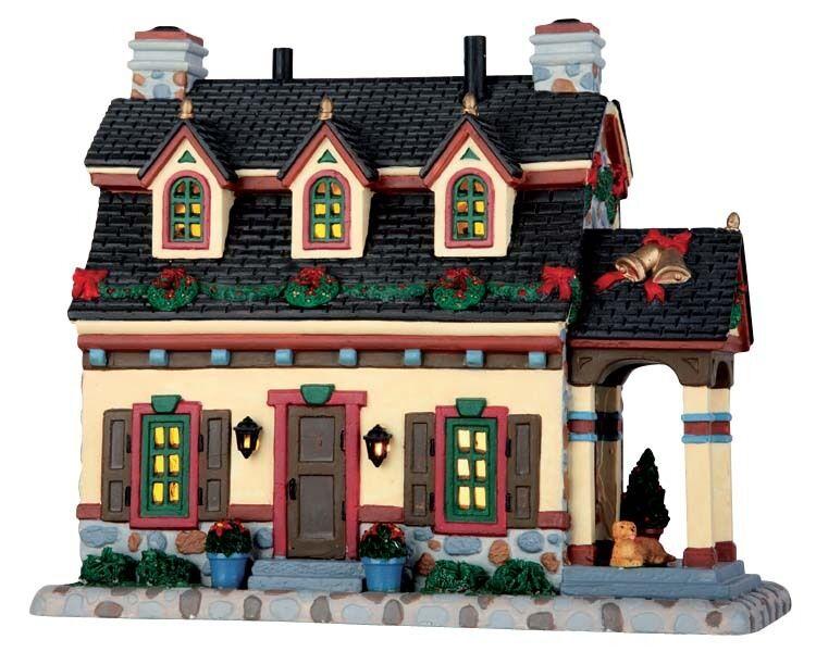 LEMAX Sullivan Manor   Weihnachtsdorf Winterdorf Modellbau Porzellanhaus
