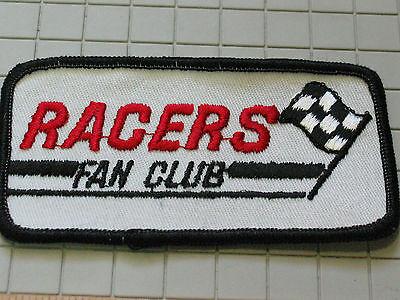 Collection Here Racers Fan Verein Rennen Aufnäher (#4770)