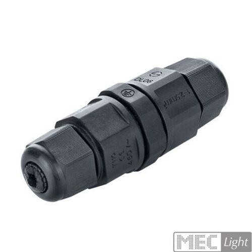 3-polige Verbindungsbox//Muffe//Kupplung IP68 zum verbinden von 3 Strom-Leitungen