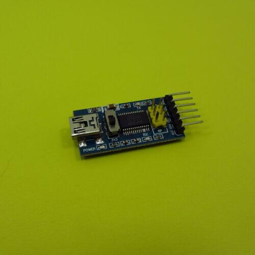 Différents USB vers TTL Serial Adaptateur Module 3.3 V connecteur 5 V Câble